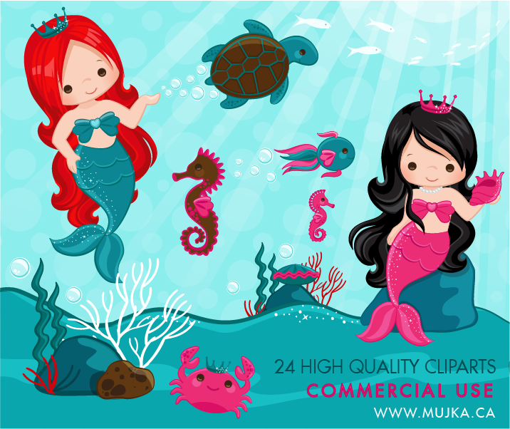 cute-little-mermaid-clip-art