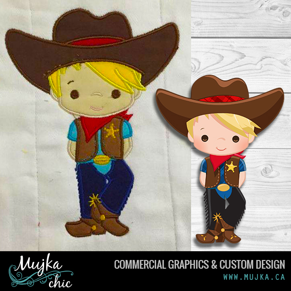MUJKA-COWBOY-SINGLE-CLIPART-APPLIQUE-EMBROIDERY