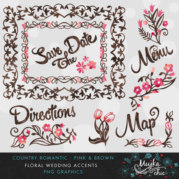 COUNTRY-ROMANTIC-FLORALS-CLIP-ART-PINK-BROWN-02