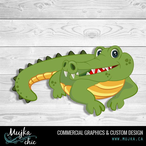 MUJKA-alligator-graphics