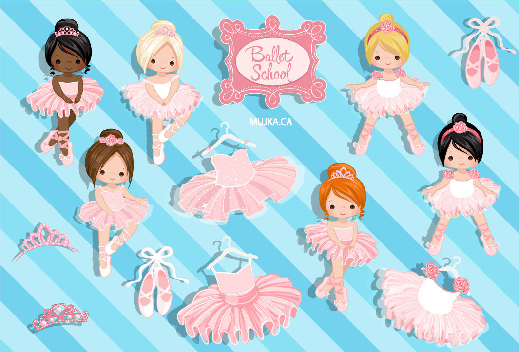 ballerinas-and-tutus-clipart