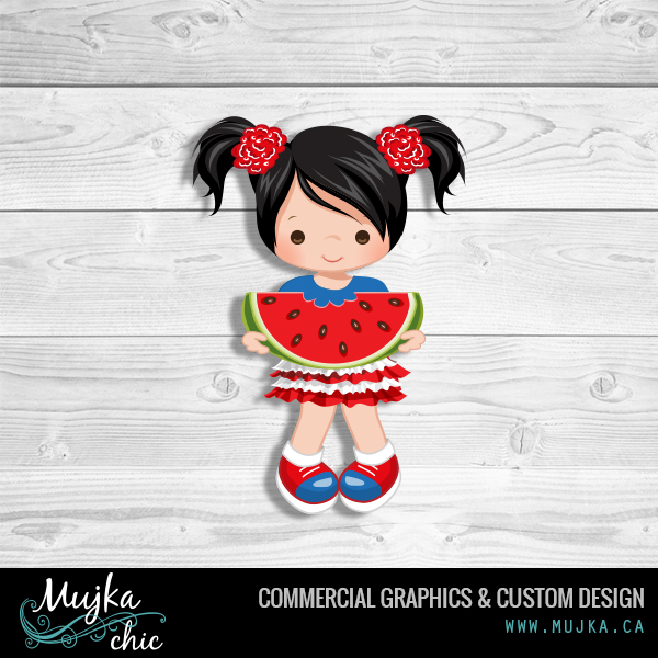 MUJKA-4th-of-july-girl-eating-watermelon-graphics