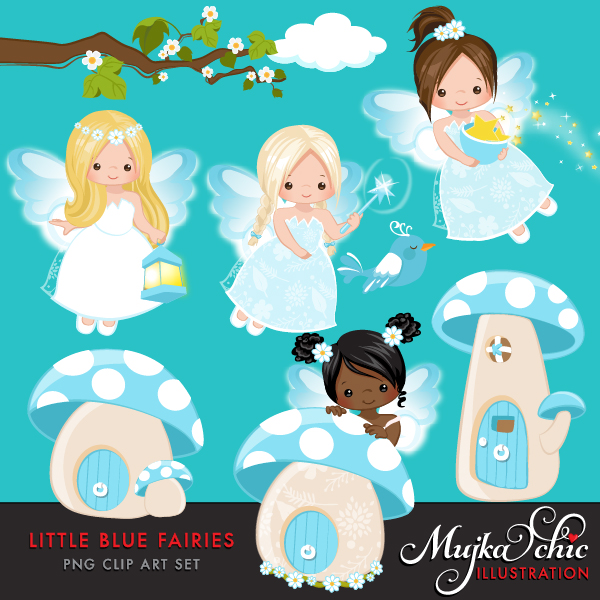 LITTLE-BLUE-FAIRIES-clipart