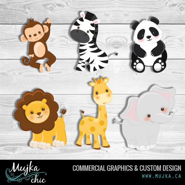 MUJKA-jungle-animals-clipart