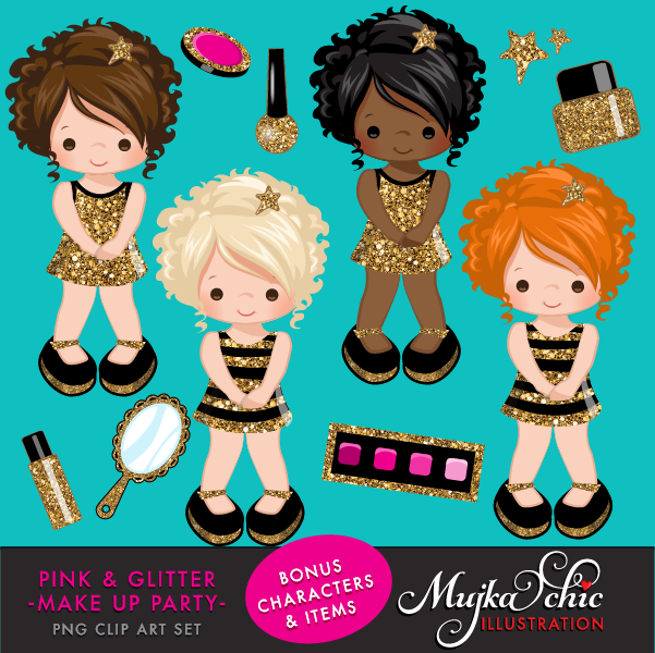 PINK-GLITTER-MAKE-UP-PARTY-CLIPART-02