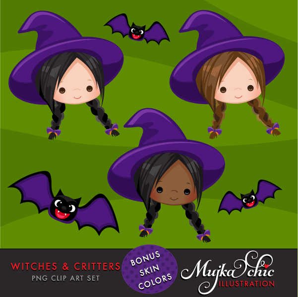 HALLOWEEN-WITCHES-CRITTERS-CLIPART-02