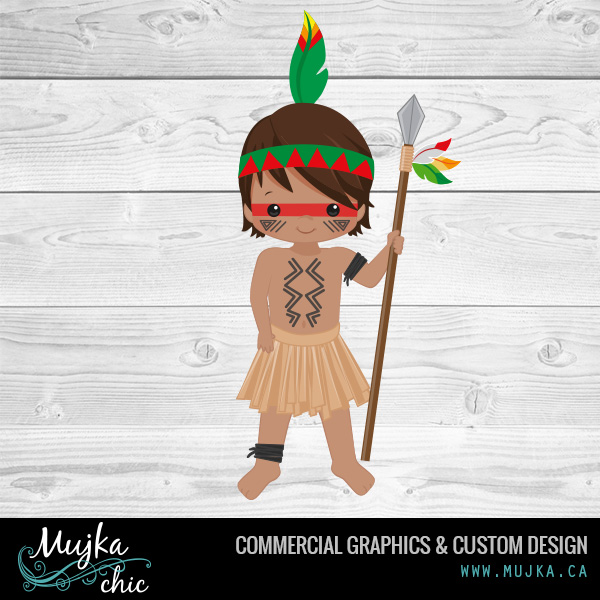 MUJKA-little-indian-kid-illustrations