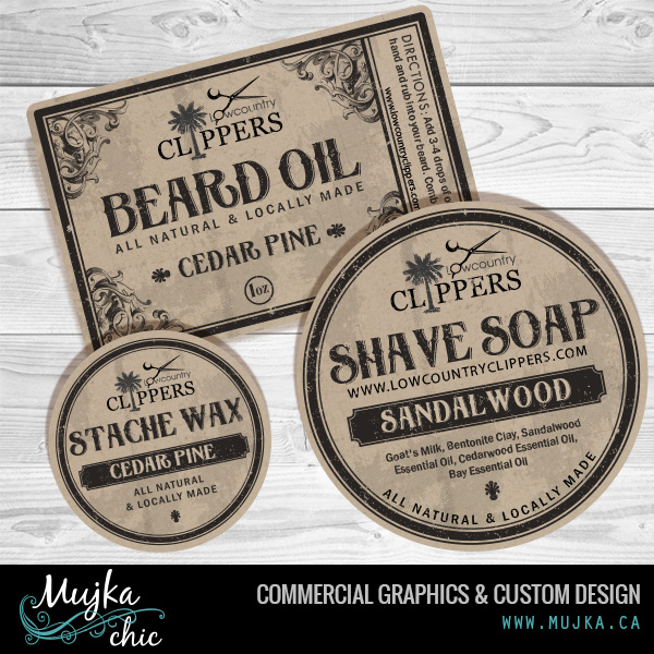 MUJKA-lowcountry-clippers-product-labels-graphics