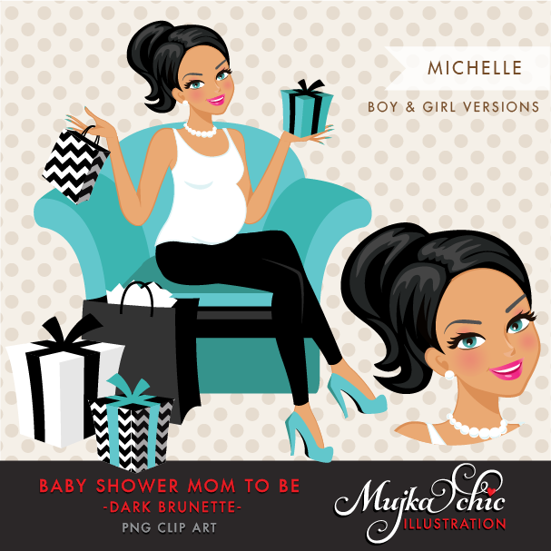 MICHELLE-BABYSHOWER-BRUNETTE-CHARACTER-DESIGN-02
