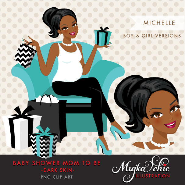 MICHELLE-BABYSHOWER-DARK-SKIN-CHARACTER-DESIGN-08