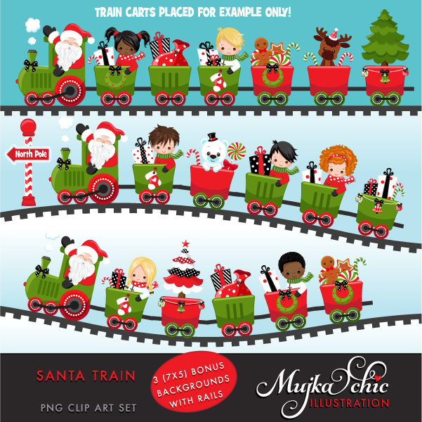 SANTA-TRAIN-Clipart-backgrounds
