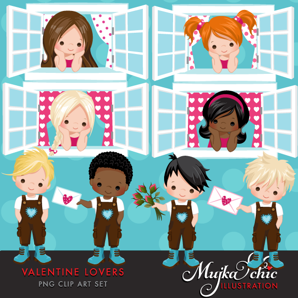 VALENTINE-LOVERS-CLIPART-01