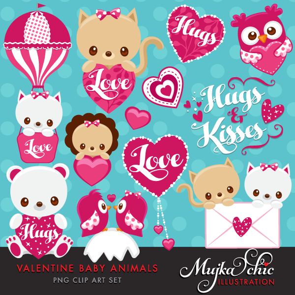 VALENTINES-DAY-CUTE-BABY-ANIMALS-CLIPART-01