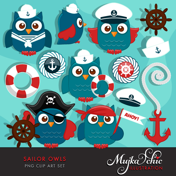 cute-sailor-owls-clipart-01