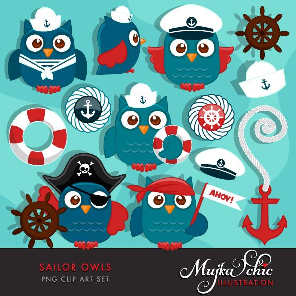cute-sailor-owls-clipart-01