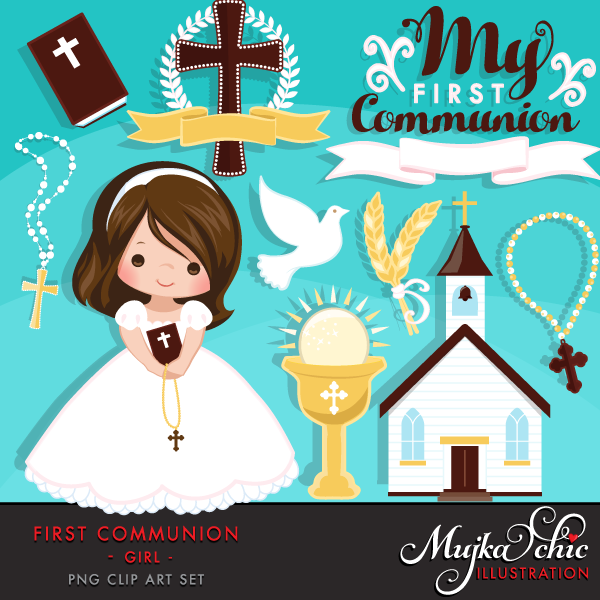 First Communion Graphics, Cliparts – MUJKA CHIC BLOG