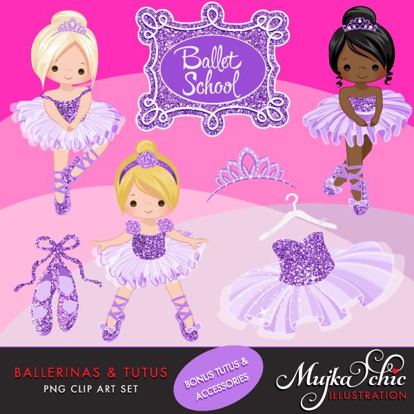 ballerinas-and-tutus-purple-glitter-clipart-01
