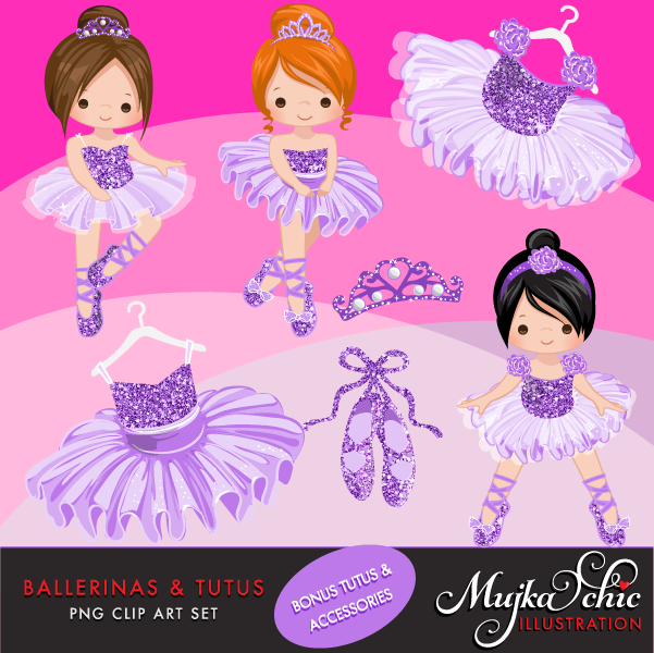 ballerinas-and-tutus-purple-glitter-clipart-02