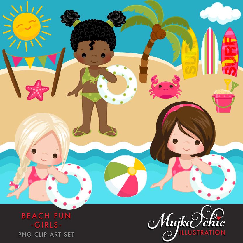 beach-fun-clipart-girls