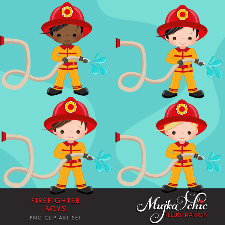 fire man clipart