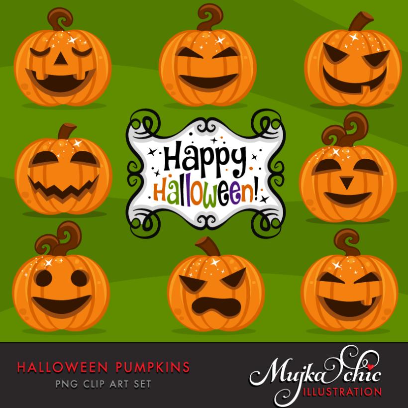 halloween-pumpkins-clipart-01
