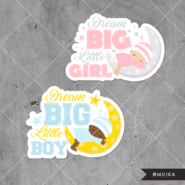 dream-big-little-one-word-art-graphics-clipart