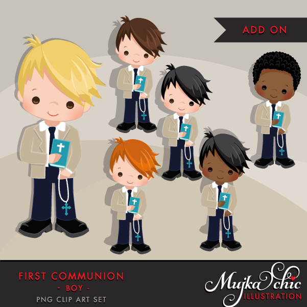 BOY-FIRST-COMMUNION-CLIPART-khaki-24
